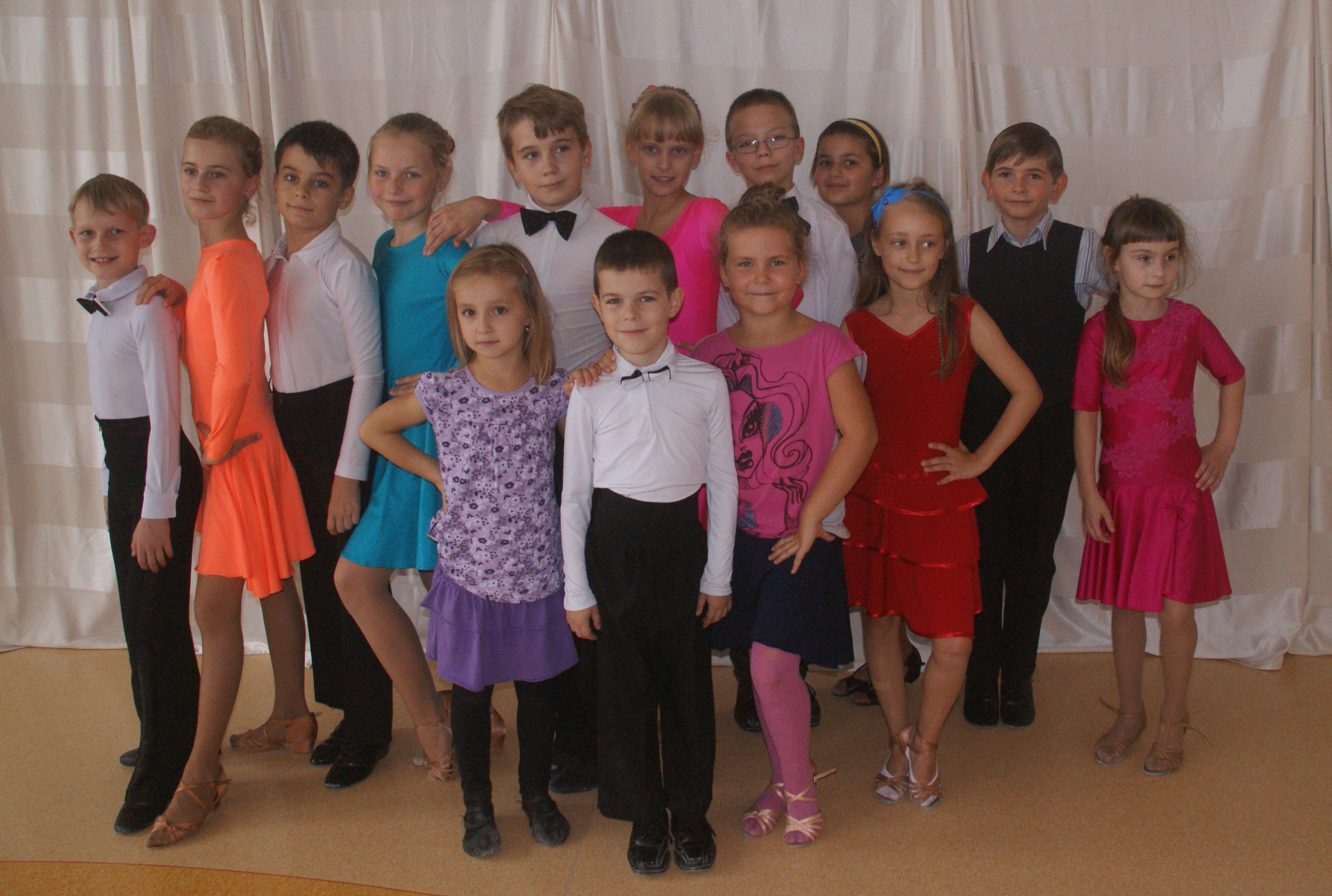 Sesja pierwszej grupy Tańca Towarzyskiego 2014