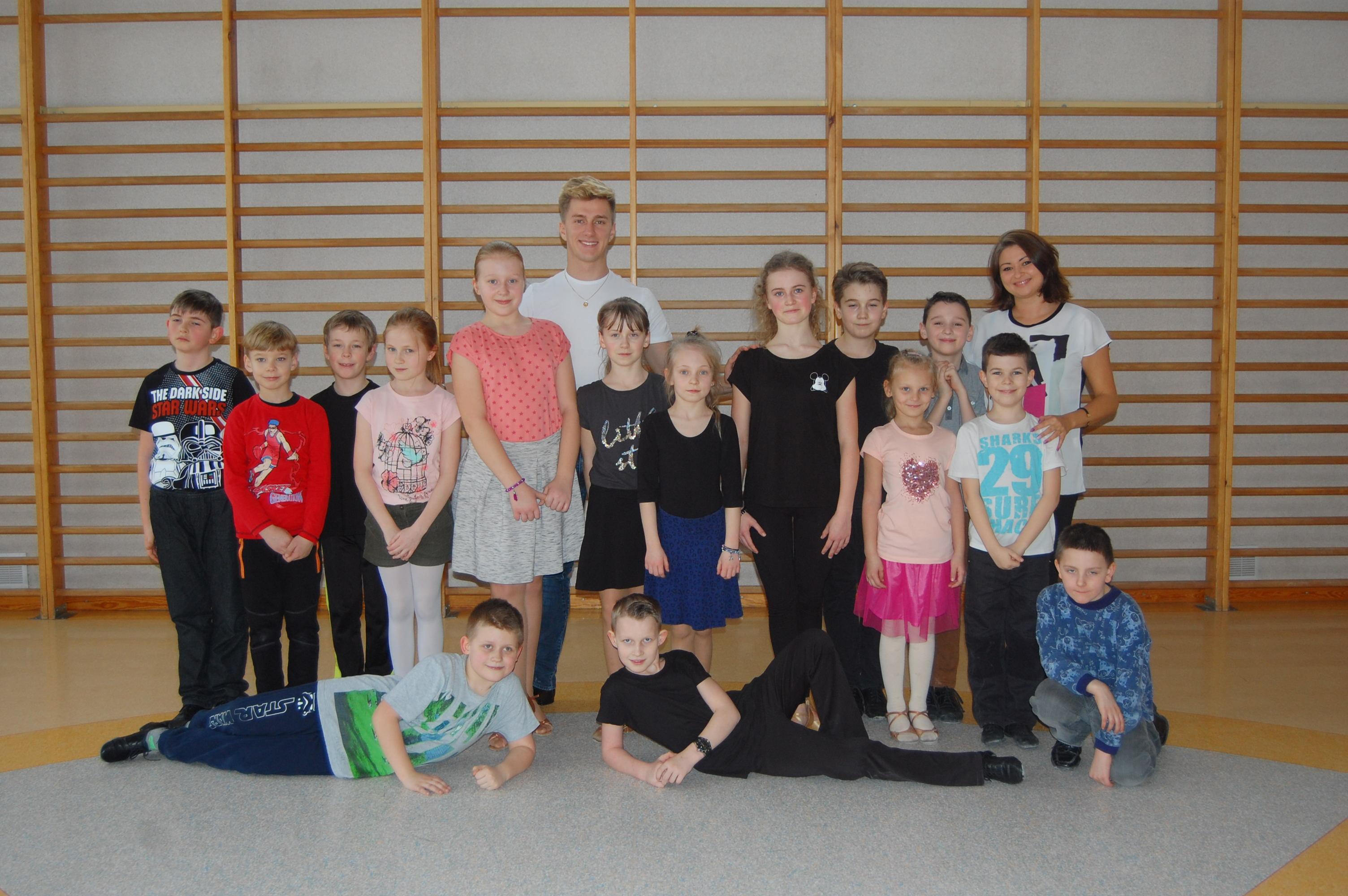 Szkolenie grupy Tańca Towarzyskiego 2016